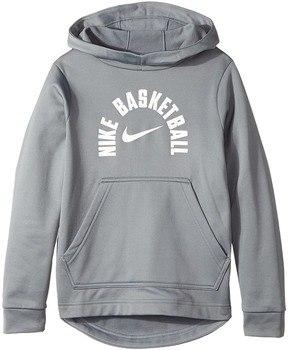 Nike Kids - Therma Basketball Pullover Hoodie Boy's Sweatshirt