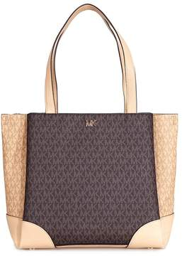 Michael Kors Gala Medium Logo Tote- Brown/Butternut - ONE COLOR - STYLE