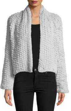 Bagatelle Faux Fur Long Sleeve Jacket