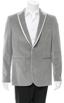 John Richmond Velvet One-Button Sport Coat w/ Tags
