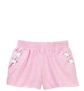 Design History French Terry Shorts (Little Girls)