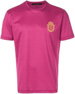 Billionaire embroidered logo T-shirt