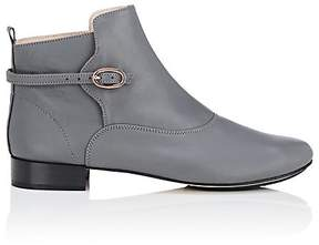 Repetto WOMEN'S BUCKLE-DETAILED LEATHER ANKLE BOOTS