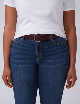 Lane Bryant Embroidered Belt