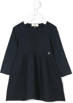 Armani Junior cord effect flared dress