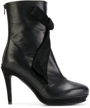 A.F.Vandevorst bow appliqué boots