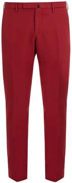 Incotex Mid-rise slim-leg cotton chino trousers