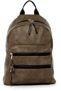 SR SQUARED BY SONDRA ROBERTS Double Zipper Backpack