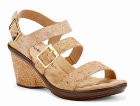 Walking Cradles Women's Lean Cork Wedge Sandal
