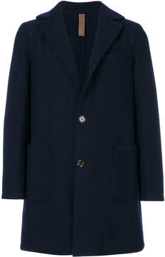 Eleventy classic single-breasted coat