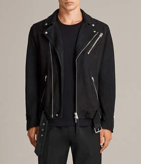 AllSaints Kolton Leather Biker Jacket