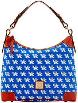 Dooney & Bourke Kentucky Wildcats Hobo Bag - BLUE - STYLE