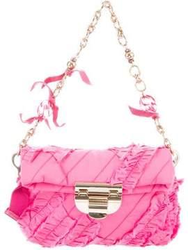 Nina Ricci Ruffled Woven Bag