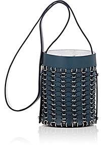 Paco Rabanne Women's 14#01 Mini Chain-Mail Bucket Bag - Navy