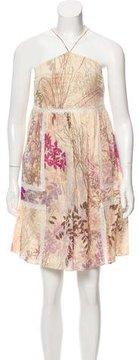 Alessandro Dell'Acqua Printed Mini Dress w/ Tags