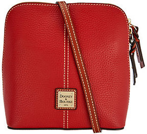 Dooney & Bourke As Is Pebble Leather Crossbody Handbag-Trixie - ONE COLOR - STYLE