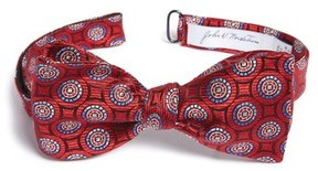 John W. Nordstrom Men's Medallion Silk Bow Tie
