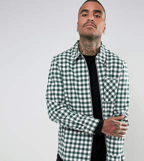 Reclaimed Vintage Inspired Coach Shirt In Check