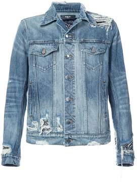 Amiri Bandana Trucker jacket
