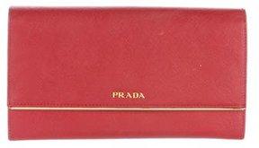 Prada Saffiano Lux Wallet