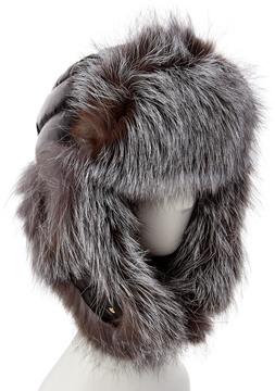 Adrienne Landau Women's Silver Trapper Hat