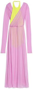 Emilio Pucci Two-Tone Jersey Gown