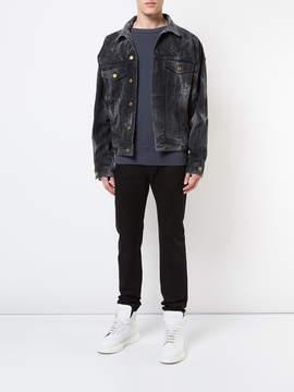 Fear Of God Black bleached effect jacket