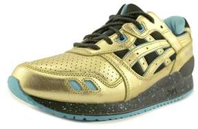 Asics Gel-lyte Iii Youth Round Toe Synthetic Gold Running Shoe.