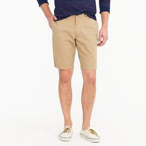 J.Crew 10.5 Short In Garment-Dyed Cotton Chino