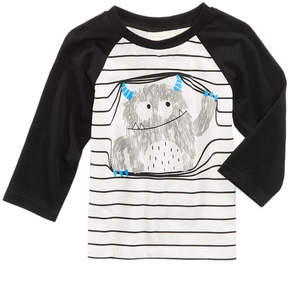 First Impressions Monster-Print Cotton T-Shirt, Baby Boys (0-24 months), Created for Macy's