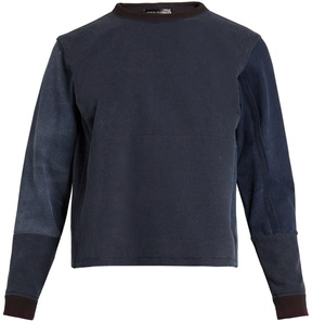 Longjourney Nash cotton long-sleeved sweater
