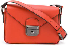Longchamp push lock shoulder bag