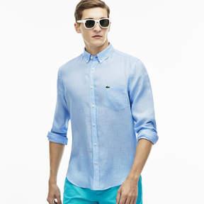 Lacoste Men's Linen Shirt