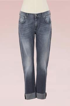 7 For All Mankind Relaxed skinny trousers