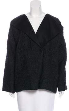 eskandar Textured Button-Up Jacket