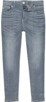 River Island Boys mid blue Sid skinny jeans