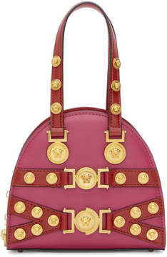 Versace Pink and Red Small Tribute Bag