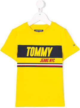 Tommy Hilfiger Junior branded short sleeve T-shirt