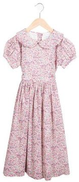 Rachel Riley Girls' Floral Print Dress