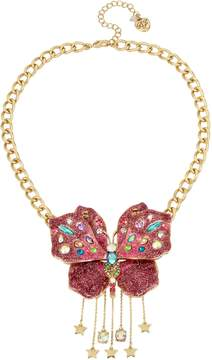 Betsey Johnson BLOOMING BETSEY 3D BUTTERFLY PENDANT
