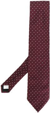 Lardini polka dotted tie