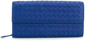 Bottega Veneta woven flap purse