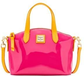 Dooney & Bourke Patent Ruby Top Handle Bag - FUCHSIA - STYLE