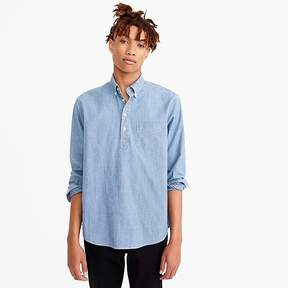 J.Crew Popover shirt in stretch chambray