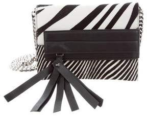 Elena Ghisellini Ponyhair Shoulder Bag