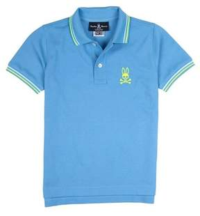 Psycho Bunny Neon Bunny Polo (Toddler, Little Boys, & Big Boys)