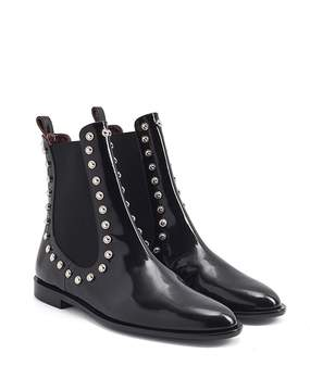 Carven Odeon Studded Chelsea Boots
