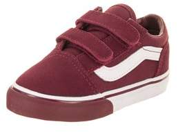 Vans Toddlers Old Skool V (mono Bumper) Skate Shoe.