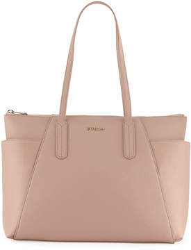 Furla Ariana Medium Leather Zip Tote Bag
