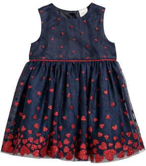 H&M Glittery Dress - Blue
